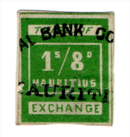 (I.B) Mauritius Revenue : Bill Of Exchange 1/8d - Mauricio (...-1967)