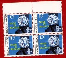 1983  -  BELGIQUE  N°  2105**   Bloc  De  4   Timbres  Neufs - Collections