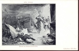 CP - Guerre 1870 - Episode Du Plateau D' Avron - Géo Weiss - Other Wars
