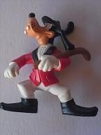 1 FIGURINE FIGURE DOLL PUPPET DUMMY TOY IMAGE POUPÉE - GOOFY CRICKET PLAYER DISNEY PORTUGUESE PORTUGAL 1980 MAIA BORGES - Disney