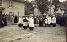 Fotokaart Carte Photo - Devotie - Priesters - Phot. Georges Braun Mulhouse Dornach - Inaugurations