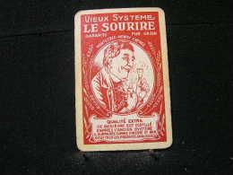 Playing Cards/Carte A Jouer/1 Dos De Cartes,Distillerie De Montegnée (Liège) Henry Chénée - Vieux Système (Genièvre) - Cartes à Jouer