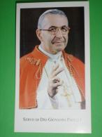 Paco N° 178 -  GIOVANNI PAOLO I / PAPA Albino Luciani (Forno Di Canale D'Agordo,Belluno) Servo Di Dio -  Santino - Santini