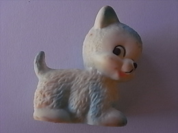 1 FIGURINE FIGURE DOLL PUPPET DUMMY TOY IMAGE POUPÉE - WHITE CAT SIZZLE ANIMAL - Katten