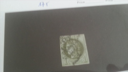 LOT 222189 TIMBRE DE FRANCE OBLITERE N�39 VALEUR 175 EUROS