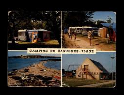 29 - NEVEZ - Multi Vues - RAGUENES - Camping - Caravanes - Névez