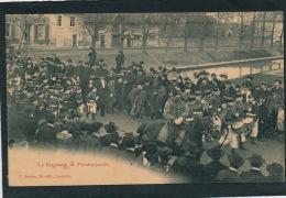 RUSSIE - MILITARIA - Le Régiment De PREOBRAJENSKI à La Cavalcade De Bienfaisance De LUNÉVILLE (FRANCE) Le 04-04-1904 - Russia