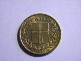 ISLANDE - 50 AURAR 1970. - Islande