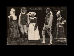 29 - NEVEZ - Folklore Breton - Costumes - Coiffes - Fiancés - Névez