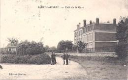 SAINT FARGEAU - Café De La Gare - Saint Fargeau Ponthierry