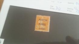 LOT 222236 TIMBRE DE FRANCE OBLITERE N�30 VALEUR 20 EUROS