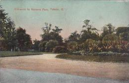 Ohio Toledo Entrance To Navarre Park 1912