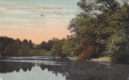 Ohio Delaware View On Greenwood Lake 1915
