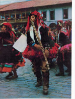 Am�rique - P�rou - Cunjunto folklorico de la provincia de Canas -Cusco