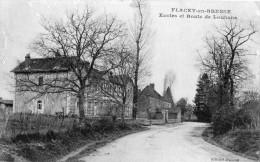 FLACEY-EN-BRESSE ECOLES ET ROUTE DE LOUHANS - France