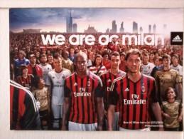 Cartolina - WE ARE AC MILAN . - Calcio