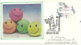 Australia Children's Day, Belle Lettre Affranchi Avec Timbre Frama (Cupex) Adressé Au Territoire Du Nord.... - ATM - Frama (vignette)