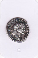 DENIER VESPASIEN PONTIFEX MAXIMUS / TRES BEAU - 2. The Flavians (69 AD To 96 AD)