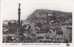 Espagne - Barcelona - Aduanas - Monumento A Colon - Barcelona