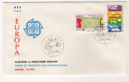 EUROPA CEPT TURKEY,TURQUIE,TURKEI, 1988 FDC - Unclassified