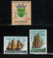 MOCAMBIQUE '61 HI VALUES 2 Ships + MNH #422,453-4 - Mozambique