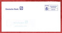 Brief, Deutsche Bank, Barfrankaturaufdruck (59997) - Poststempel - Freistempel