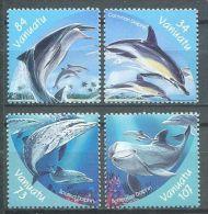 132 VANUATU 2000 - Dauphin (Yvert 1097/1100) Neuf ** (MNH) Sans Trace De Charniere - Vanuatu (1980-...)