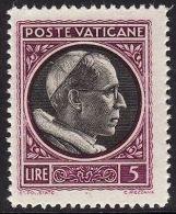 VATICANO 1945 - MEDAGLIONCINI - PIO XII - L. 5 - MNH - Unclassified