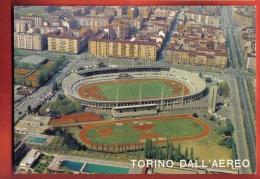 FOIT-25 Torino Stadio Comunale Stadium Football Calcio Fussball Soccer Circulé Sous Enveloppe - Stadiums & Sporting Infrastructures