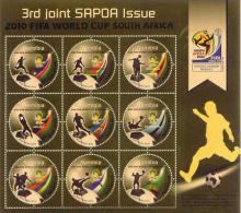 NAMIBIA - 2010 FIFA World Cup 3rd JOINT SAPOA Issue - MNH (**) - Fußball-Weltmeisterschaft