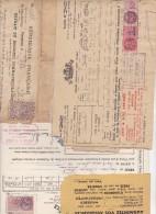 35 DOCUMENTS AVEC FISCAUX  ESSENTIELLEMENT COMMUNE DE CAP D'AIL (06) - Fiscaux
