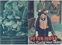 Neues Film Programm  Nr.1648 - Peter Voss , Der Held Des Tages - Magazines