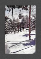 SPORTS D´ HIVER - SKI - PARC DU MONT SAINTE ANNE - TÉLÉCABINE SEULE INSTALLATION DU GENRE DANS L'EST DU CANADA - Sports D'hiver