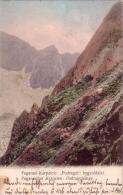 ALTE AK  Fagaras - Massiv / Fogarascher Karpaten  - Podraguhänge - 1906 - Roumanie