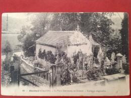 21 Cote D´Or MONTBARD La Villa CHEVREUX Au Couard (légende) - Montbard