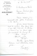 LETTRE : Mairie De AIGLEMONT - Altri