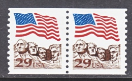 U.S.   2523 A  X 2     *      FLAG - Coils & Coil Singles