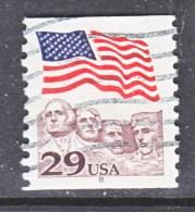 U.S.   2523   PLATE  8   (o)       FLAG - Coils (Plate Numbers)