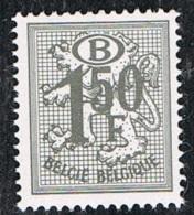 """Année 1975  COB S72** -  """"chiffre Sur Lion Héraldique""""  Type S47 - Cote 0,20€ - Officials"""