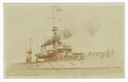 Royal Navy (RN) Warships, HMS ´Dreadnought´ (1906), Dreadnought-class Battleship, Photo Postcard - Warships