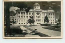 CURITIBA - Universidade (voir Timbres Dos Carte) - Curitiba