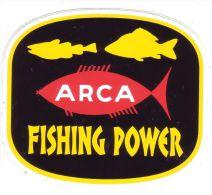 AUTOCOLLANT STICKER  ARCA FISHING POWER - Aufkleber