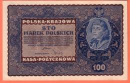 POLOGNE - 1.000 Marek Du 23 08 1919 - Pick 29 - Pologne