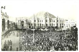 Lima Plaza de Armas Real Photo