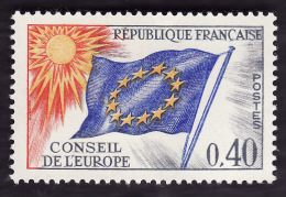 Service  31 -  Conseil De L´Europe  0f40  -  NEUF*  -  Cote  1.50e - Neufs