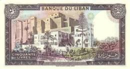 LEBANON P. 65d 50 L 1988 UNC - Liban