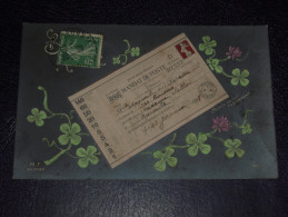 Jolie Carte Maximum De 1908 SEMEUSE - Mandat De Poste - ...-1929