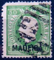MADEIRA 1871 50r King Luiz USED Scott25 CV$55 - Madeira