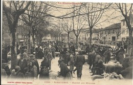 Haute Garonne : St Gaudens, Le Marché Aux Moutons, Belle Carte Animée - Saint Gaudens