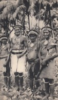 SOLOMON ISLANDS ILES SALOMON Dans Le Silage De BOUGAINVILLE Natives-18X10.5cm Atypical Format Postcard As Per 2scans-181 - Salomon